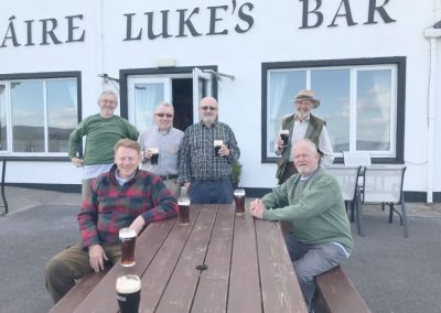 saracens head angling group on tour